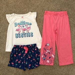Carter's 3pc Pajama Set - Bedtime Besties